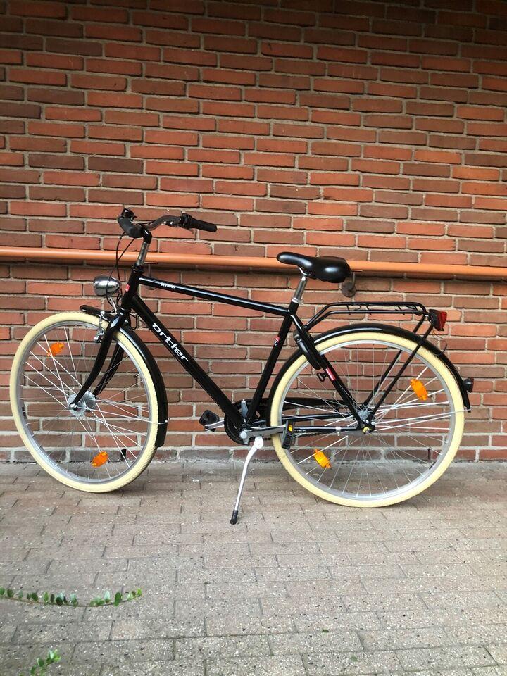 Herrecykel, andet mærke Ortler detroit