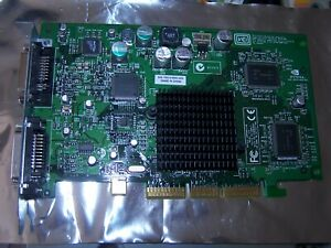 NVIDIA 0G0001128MB AGP GEFORCE VIDEO CARD w//VGA DVI and  S-Video