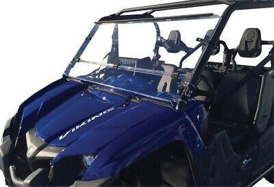 Clear Full Windshield Moose 2317-0214 For 14-19 Yamaha YXM700 Viking