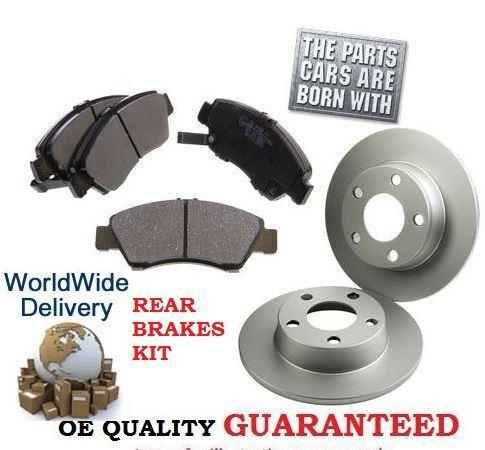 BRAKE PAD KIT FOR RANGE ROVER SPORT 3.6TD V8 2006-8//2011 REAR BRAKE DISCS SET