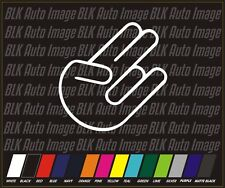 SHOCKER JDM drift euro Auto Car Stickers Decals