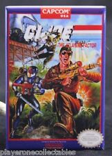 "G. I. Joe The Atlantis Factor NES Game Box 2' X 3"" Fridge Magnet. Nintendo"