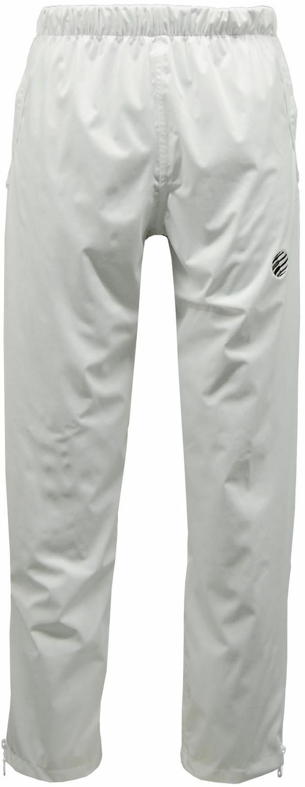 Bowls Green Play Unisex White Mesh Lined Waterproof Breathable Sports Trouser
