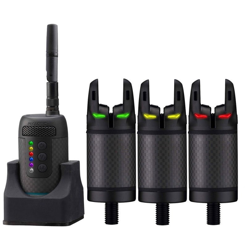 ProLogic K3 Bite Alarm Set 31 Multi LED   Nuovo di zeccaCONSEGNA GRATUITA