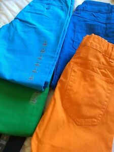 Girls-New-H-amp-M-Lot-5-pants-size-5-6-6-7