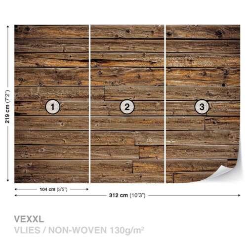 WALL MURAL PHOTO WALLPAPER XXL Wood Planks 1973WS