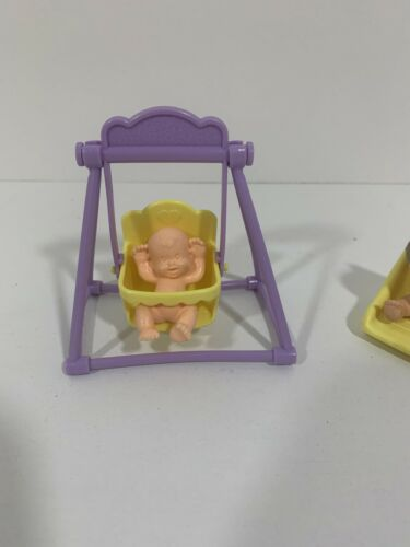 Details about  /Mattel Arco Magic Nursery Mini PVC Baby figures and accessories ~ Vintage 1990s
