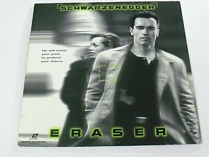 Arnold Schwarzenegger Eraser 1996 W B 142202 Laserdisc Stage Screen Vg Ebay