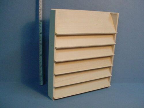 Miniature Large Magazine Rack #1000-Unpainted Handcrafted