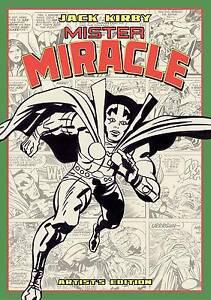 JACK-KIRBY-MISTER-MIRACLE-ARTIST-EDITION-LARGE-HARDCOVER-FOURTH-WORLD-EPIC-SAGA