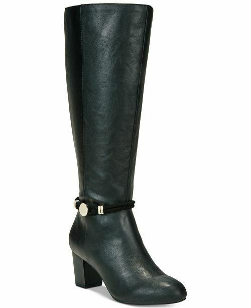 Karen Scott Galee donna Knee High High High stivali (8 M, nero) fb2a04