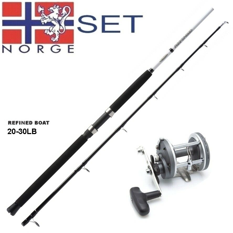 Norvège-Set avec multi rôle 2bb KINETIC + RON THOMPSON 20-30 LB