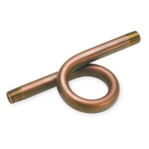 """Steam Gauge Siphon 1/4"""" Npt Sch 40 Brass 250 Psi 400 Deg F Pigtail Hydraulics, Pneumatics, Pumps & Plumbing"""
