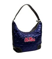 *NEW w/ Tags Ole Miss Rebels Mississippi Ole Miss Team Color Quilted Hobo Purse