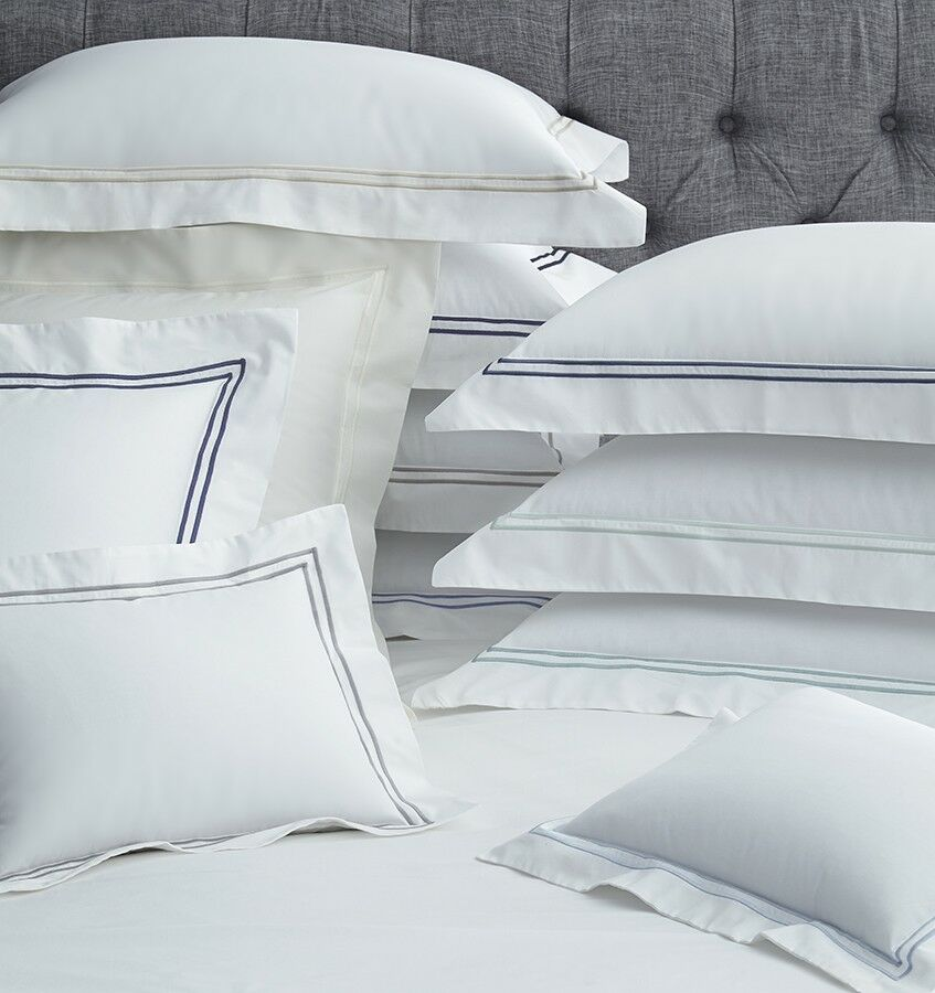 Sferra Grande Hotel Collection Italian Cotton Percale pillow sham