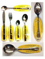 STAINLESS STEEL CUTLERY SET / LOOSE FORK KNIFE DESSERT TEA SODA SPOON TABLE FOOD