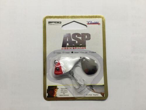 ASP Jiggin/'Spinner Red//Head SPRO
