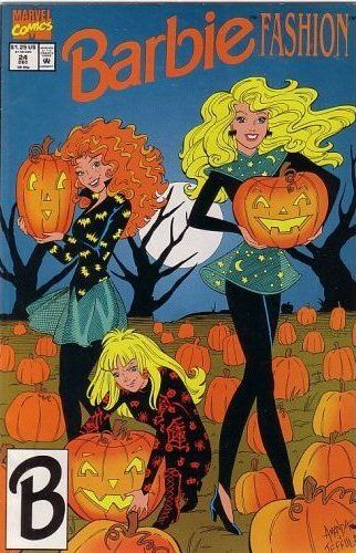 Newsstand Barbie #24  Marvel Comic Book