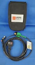 Physio Control 3 Lead Ecg Cable For Lifepak 1000 Aed 11111 000016 With Soft Case
