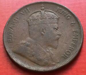 Straits-King-Edward-VII-One-Cent-1908-1