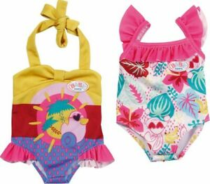 Baby-Born-Swim-Swimsuit-Swimming-Outfit-For-43cm-Dolls-Zapf-Creation