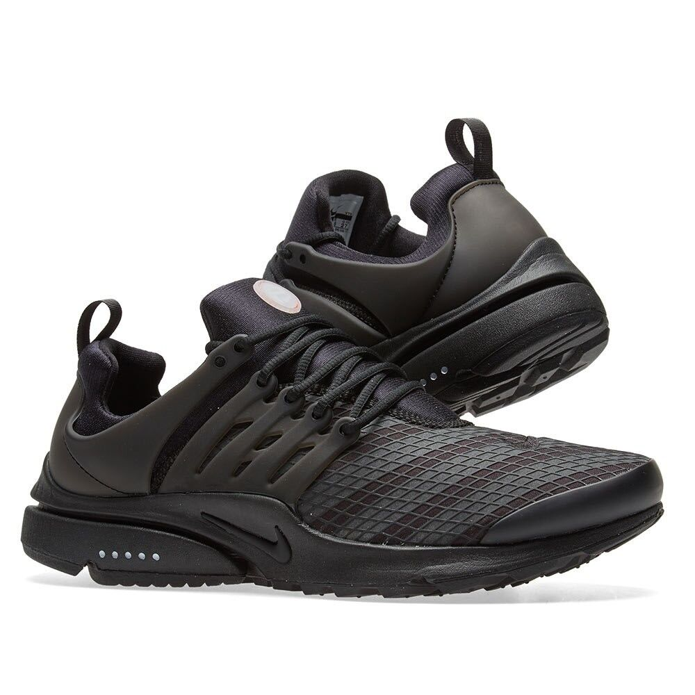 Mens Nike Presto Utility Running Sneakers New Black Reflective 862749-004 SKU AA New shoes for men and women, limited time discount