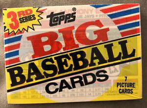 1988 Topps Big Baseball Pack 3rd Series Mark Eichhorn Blue Jays Showing On Top