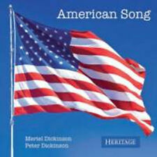 CD AMERICAN SONG PETER & MERIEL DICKINSON CARTER COPLAND CAGE GERSHWIN THOMSON