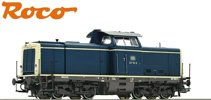 Roco h0 51299-1 diesellok br 211 112-8 de la DB  DCC digital  - nuevo