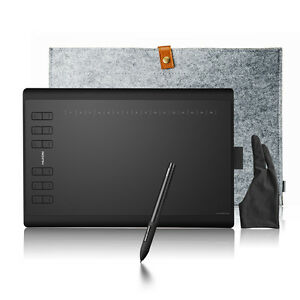 Huion-1060-PLUS-Graphics-Tablet-Bag-Glove-Art-for-Photoshop-Art-Design-Drawing