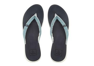 "REEF /""ROVER SL/"" WOMEN/'S FLIP FLOPS BLUE UK 3-8"