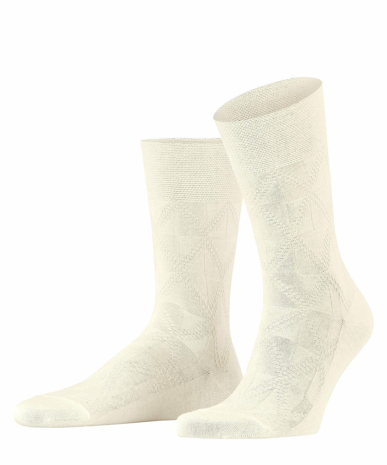 FALKE Sensitive Soft Winter Socken Herren Geometrisch