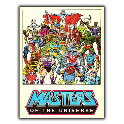 He-Man Masters of the Universe METAL SIGN PLAQUE 80s Retro Poster Print man cave