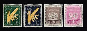 UNO-New-York-postfrisch-Jahrgang-1954
