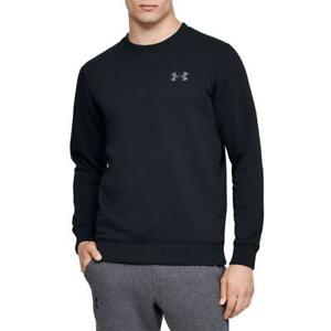 Under-Armour-UA-Rival-Solid-Fitted-Crew-Fleecepullover-Sweatshirt-Pullover