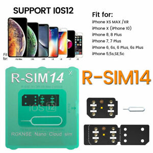 RSIM-14-12-Plus-2019-R-SIM-Nano-Unlock-Card-For-iPhone-X-XS-8-7-6-4G-iOS-12-Lot