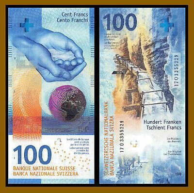 Switzerland 20 Francs P-76 Hybrid Polymer Swiss National Bank Unc 2015 2017