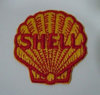 AEROSHELL Embroidered Sew On Uniform-Jacket Patch Vintage SHELL AVIATION Prdts