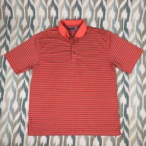 Roundtree-amp-Yorke-Men-039-s-ShortSleeve-Shirt-Regular-Fit-Orange-Size-XLT