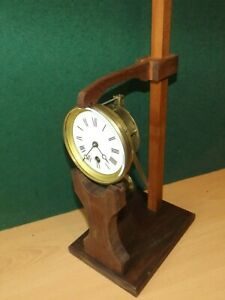Clock movement repairers test stand French design now bigger 4 longer pendulums