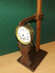 Clock-movement-test-adjustment-stand-French-design-now-bigger-4-longer-pendulums