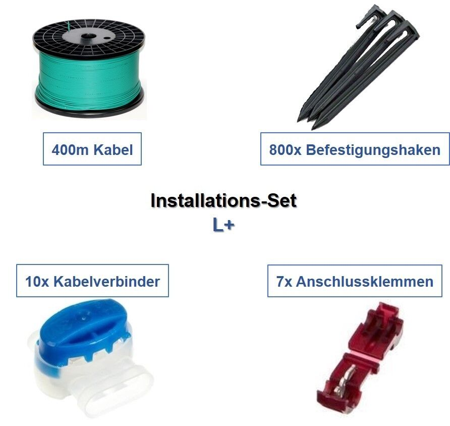 Ensemble d'installation L+ Gardena R160Li R165 R180 câble crochet connecteur Kit