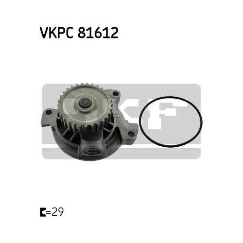 Original SKF bomba agua alta presión bomba bomba de membrana Audi