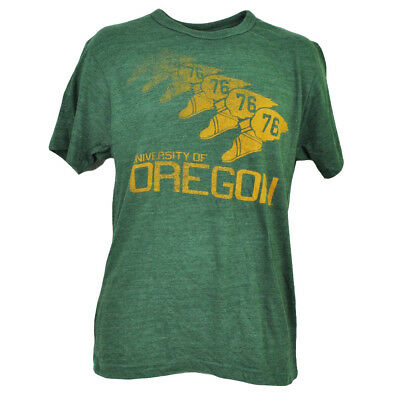 Ncaa Oregon Ducks T-shirt Grün Kurzarm Rundhals Herren Repeat Logo Sport Chinesische Aromen Besitzen Sport Baseball & Softball