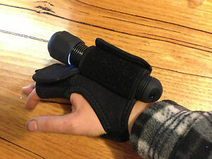 High-quality-Neoprene-DIVE-TORCH-HOLDER-034-Hands-free-034-Miltary-style-Tech