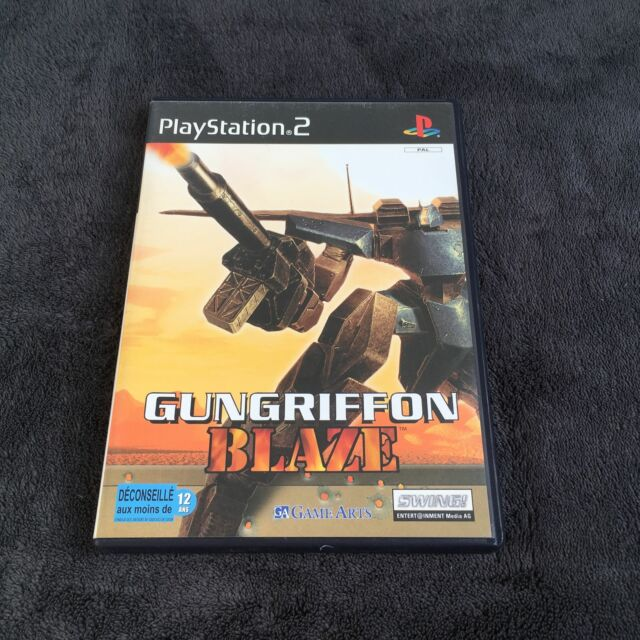 PS2 Gungriffon Blaze FRA CD état Neuf Playstation 2