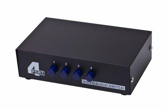 Ports Qty Video//Audio Switch 2