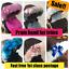 pram-hood-fur-trim-pink-grey-white-universal-hood-babies-pram-cosy thumbnail 1