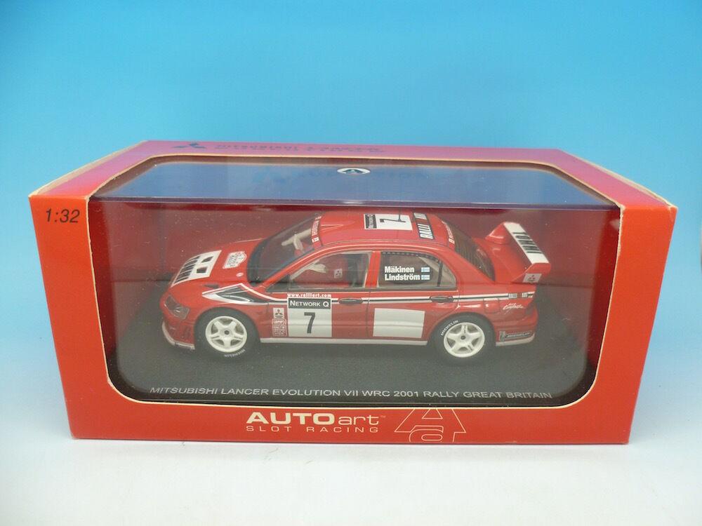 Autoart Mitsubishi Lancer WRC 2001 Rally, mint boxed unused