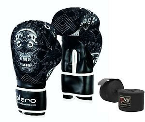 ISLERO-Kick-Boxing-Gloves-GEL-MMA-Punch-Bag-Sparring-Muay-Thai-Fight-Training-UF